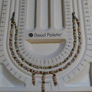 Two Tier Freshwater Pearl Necklace.....